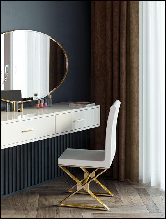כסאות-מעוצבים-דגם-לואי-צבע-לבן-גימור-זהב-ליאו-עיצובים